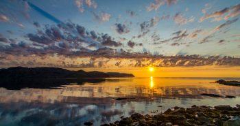 Sol de Medianoche en Noruega